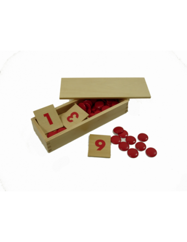 Čísla s žetony