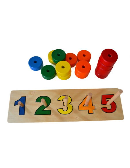 5 Colours Abacus