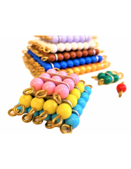 Perlové čtverce (barevné)