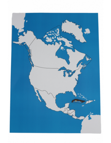 North America Control Map (New) - Unlabelled