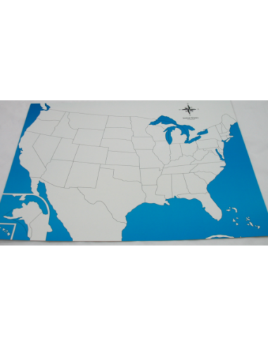 USA Control Map (New) - Unlabelled