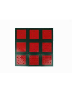 Nienhuis - Sešity na psaní - červené, malé (100 ks)