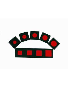 Nienhuis - Sešity na psaní - červené, velké (100 ks)
