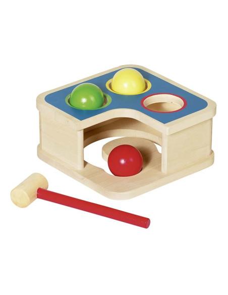 2v1 – zatloukačka a kuličková dráha